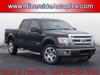 2013 Ford F-150 XLT in Tuxedo Black Metallic, This