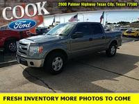 THIS ONE HAS THE XLT PKG***5.0 V8***BED COVER***CLEAN