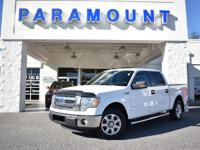 2013 FORD F-150 XLT, 4DR SUPERCREW, RWD, LOCAL TRADE,