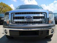 Options:  2013 Ford F-150 Xlt|Sterling Gray