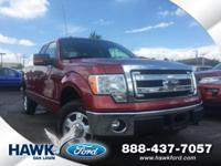 Ruby Red Metallic Tinted Clearcoat 2013 Ford F-150 XLT
