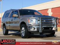 Clean CARFAX. Pale Adobe Metallic 2013 Ford F-150 XLT