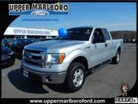 This Ford F-150 has a powerful Gas/Ethanol V6 3.7L/227
