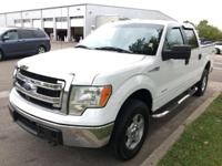 Clean CARFAX. RUNNING BOARDS, F-150 XLT SuperCrew 4WD,