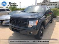 4WD.  Recent Arrival! 2013 Ford F-150 4D SuperCrew