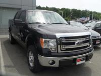 Clean CARFAX. Tuxedo Black Metallic 2013 Ford F-150 XLT