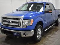 Blue Flame Metallic 2013 Ford F-150 XLT SuperCrew