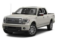 This 2013 Ford F-150 has less than 55k miles.. My!!