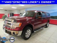 ONE OWNER, BED LINER, and SYNC. 6-Speed Automatic