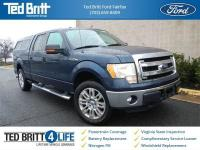2013 Ford F-150 XLT in Blue Jeans Metallic w/ Gray