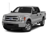 Ford F-150 White 4WDRecent Arrival!Awards:* 2013