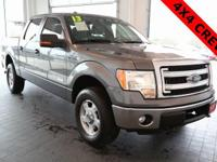 Options:  2013 Ford F-150 Xlt|Gray|4Wd|Abs