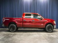 One Owner Clean Carfax 4x4 truck with ECOBOOST Engine!