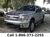 2013 Ford F-150 XLT Features: Back-up Cam - Tow Hooks -