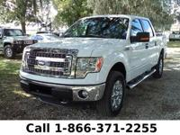 2013 Ford F-150 XLT Features: Tow Hooks - Back-up Cam -