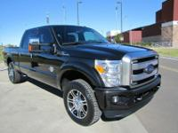 2013 Ford F250 Platinum Crew 4WD displayed here in an