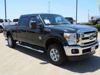 CARFAX One-Owner. Clean CARFAX. Green 2013 Ford F-250SD