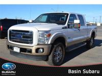 Striking style and power unite in our 2013 Ford F-250