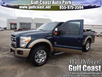CLEAN CARFAX and ONE OWNER. King Ranch w/Chrome Package