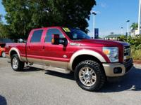Autumn Red 2013 Ford F-250SD King Ranch 4WD TorqShift