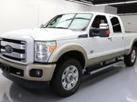 This awesome 2013 Ford F-250 4x4 Diesel comes loaded