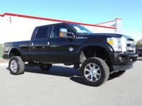 This Ford Super Duty F-250 SRW boasts a Turbocharged