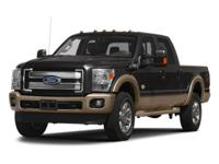 Oxford White 2013 Ford F-350SD Lariat Power Stroke 6.7L