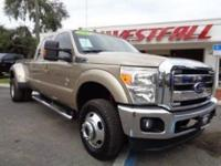 THIS IS A BEAUTIFUL 2013 FORD F350 LARIAT DUALLY