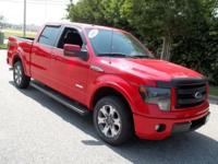 Ready for anything!!! This 2013 Ford F-150 has less