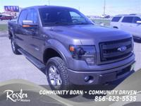 This muscular 2013 Ford F-150, with its grippy 4WD,