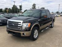 CARFAX One-Owner. Black 2013 Ford F-150 4WD 6-Speed