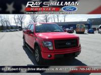 FX4 trim. PRICE DROP FROM $33,988, EPA 21 MPG Hwy/15