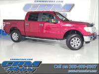 This is a low mileage 2013 F150 XLT Crew Cab 4X4 with