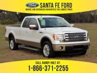 *2013 Ford F150 Lariat -* Super Cab Pickup - V8 5.0L