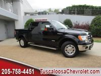 This 2013 Ford F-150 Lariat in Black features: EcoBoost