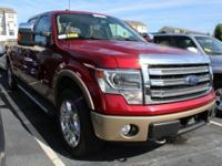 Recent Arrival! 2013 Ford F-150 Lariat Certification