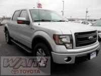2013 Ford F-150 SuperCrew FX4 Ingot Silver Metallic ONE