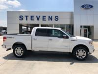 New Price! 2013 Ford F-150 Platinum 4WD 6-Speed