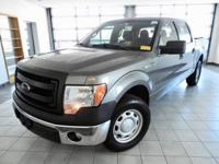 New Price! Sterling Gray Metallic 2013 Ford F-150 XL