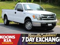 2013 Ford F-150 XL White ABS brakes, Electronic