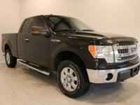 New Price! Tuxedo Black Metallic 2013 Ford F-150 XLT