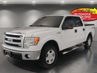 Oxford White 2013 Ford F-150 XLT 4WD 6-Speed Automatic