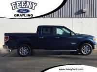New Price! Blue Jeans Metallic 2013 Ford F-150 XLT RWD