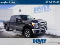 CARFAX One-Owner. Clean CARFAX. Black 2013 Ford F-250SD