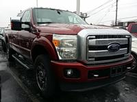 New Price! Red 2013 Ford F-250SD Platinum 4WD TorqShift