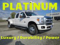 2013 Ford F350 4X4 Super Crew Platinum Price: $66,895