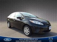 2013 Ford Fiesta S sedan that is here just in time for