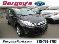 2013 Ford Fiesta SE Sedan 4DVery low mileage car Ext.
