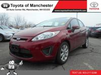 We are excited to offer this 2013 Ford Fiesta. When you