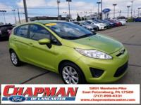 New Price! CHAPMAN LANCASTER . 2013 Ford Fiesta SE Lime